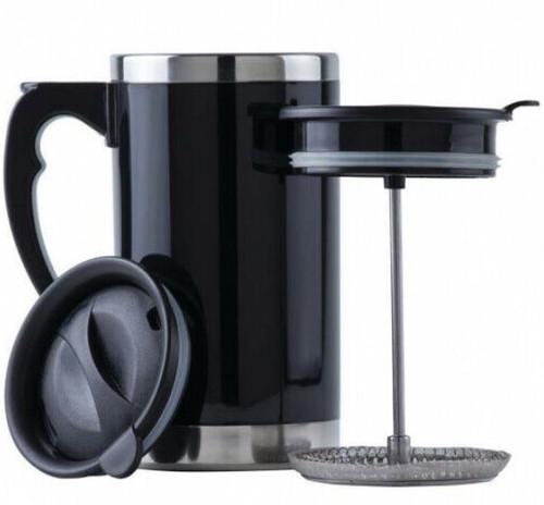 Wyndham House Travel French Press Coffee/Tea Mug