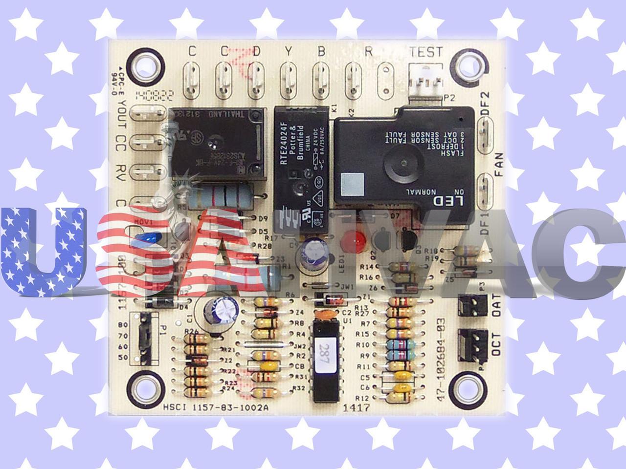 47-21517-13 Rheem Ruud Weather King Heat Pump Defrost Control Board /& Sensor