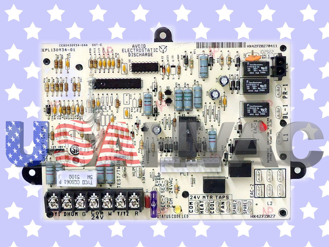 Payne OEM Replacement Furnace Control Board CEBD430934-04A