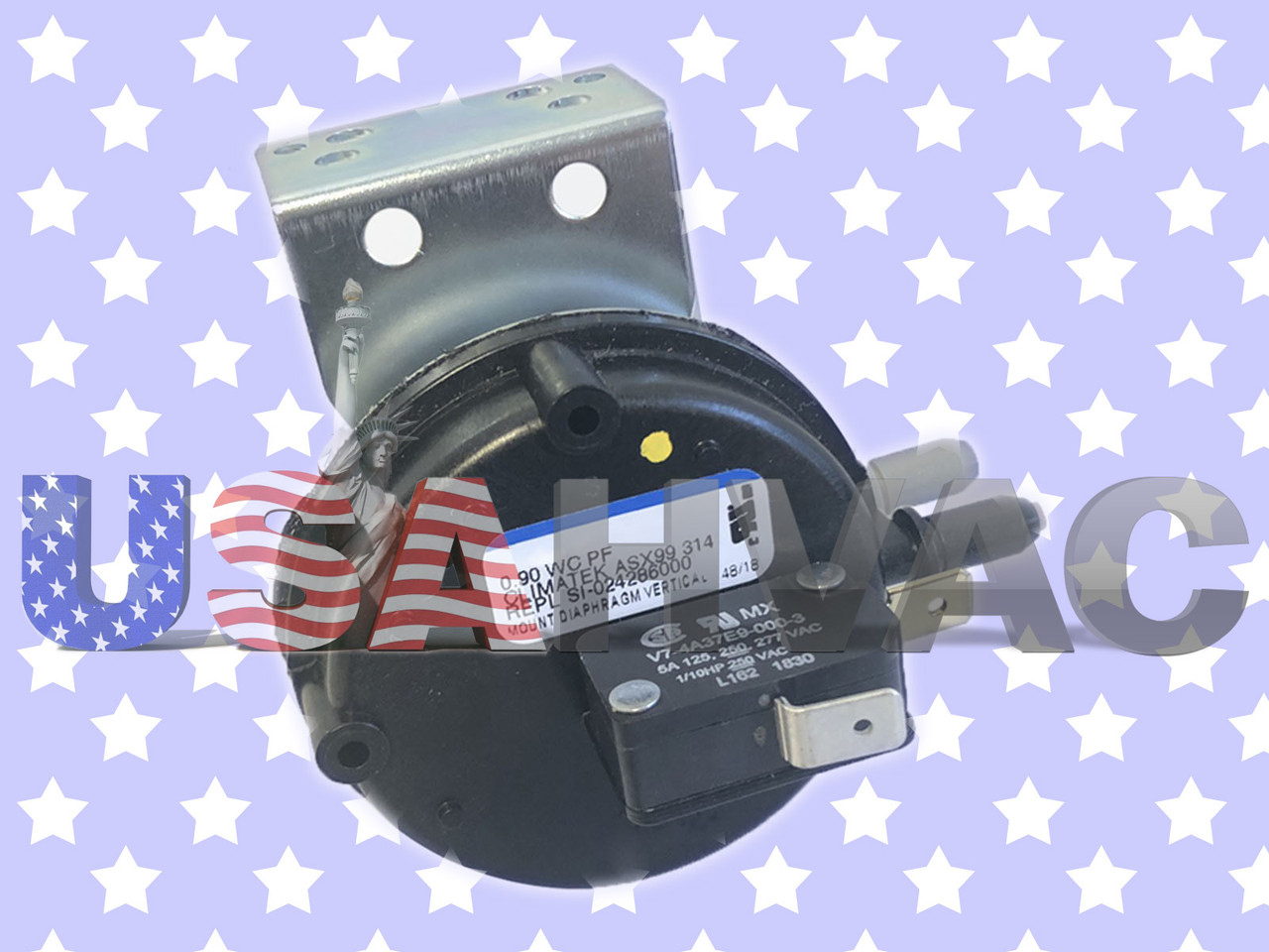 42-24064-01 Rheem OEM Furnace Replacement Air Pressure Switch