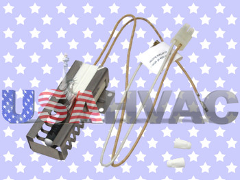 1197386 - ClimaTek Gas Oven Stove Burner Ignitor Fits Electrolux Frigidaire Tappan White