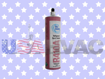 R410A-PRO R410a -  Pro ChargeRefrigerant with UV Dye & Leak Sealant 1.8 lbs