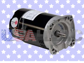 7-177215-04 7-177215-64 717721504 - Climatek Round Flange Pool Spa Pump Motor 1 HP