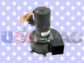 70216967 7021-6967 - OEM Rheem Ruud Weather King Furnace Inducer Fan Motor 1/20 HP