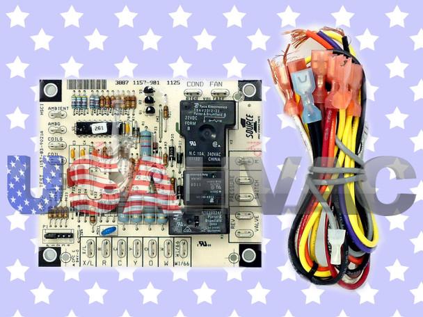 York Luxair Coleman Control Circuit Board 031-01932-002