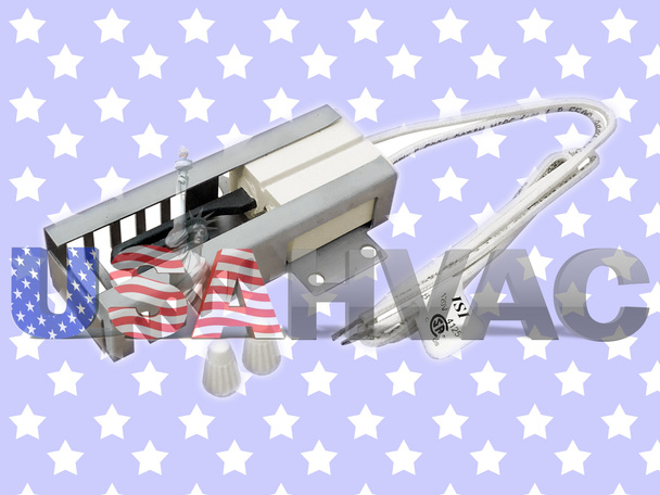 318177720 - ClimaTek Flat Gas Oven Stove Burner Ignitor Fits Frigidaire Kenmore Tappan