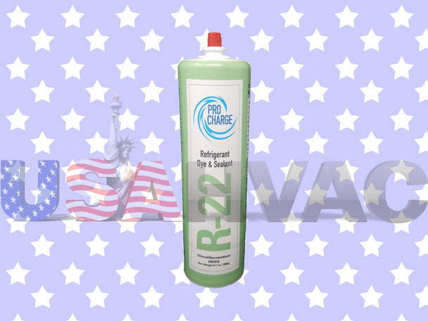 R22-PRO R-22 -  Pro ChargeRefrigerant with UV Dye & Leak Sealant 1.8 lbs