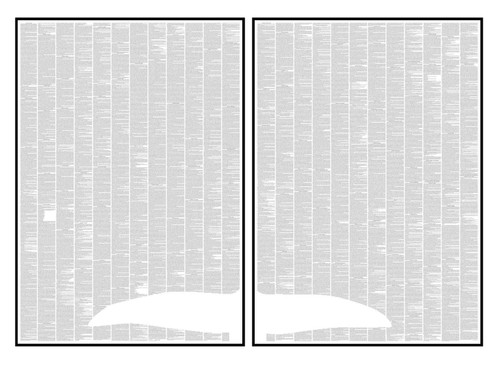 Moby Dick -  Two Page Design