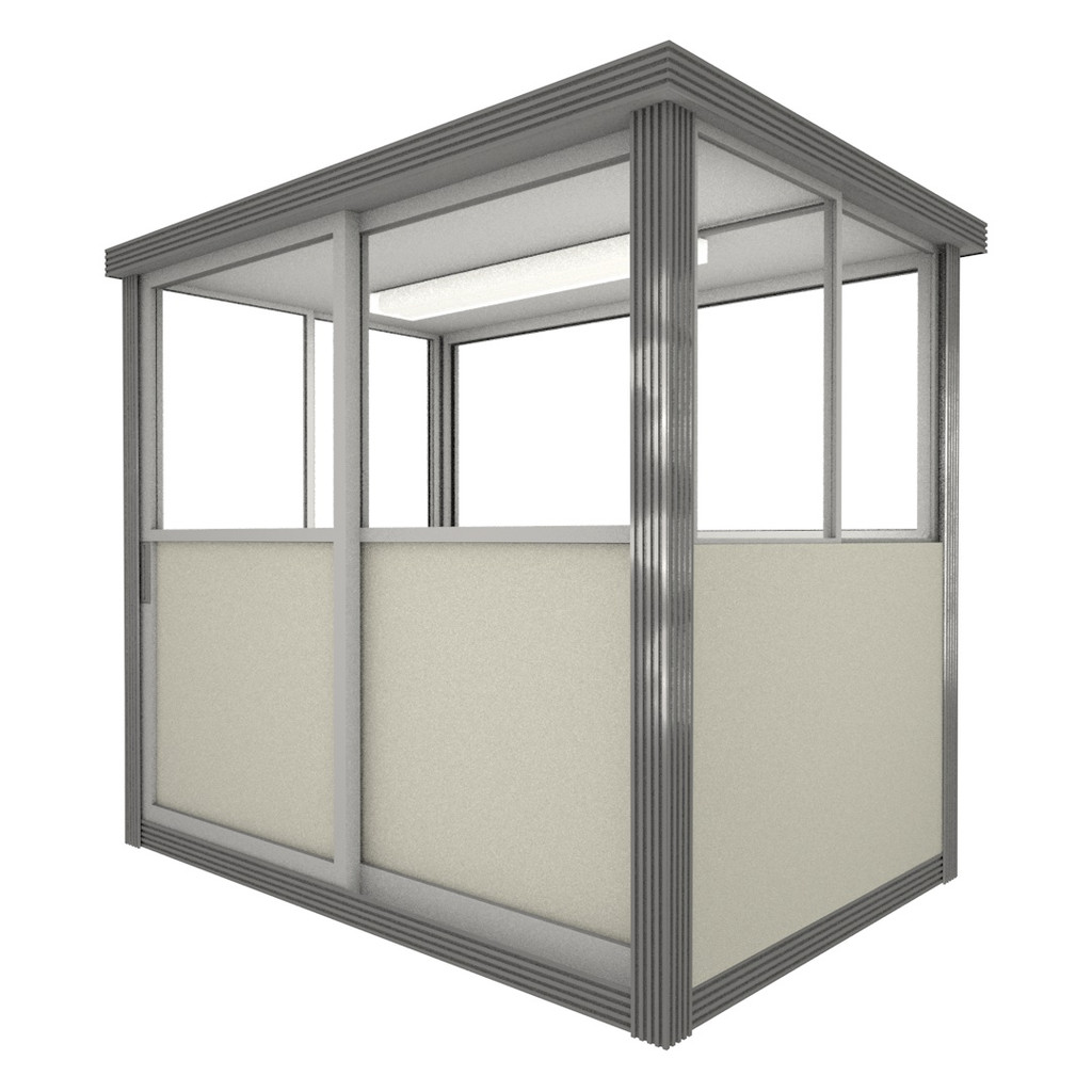 3' x 6' Booth with Sliding Door