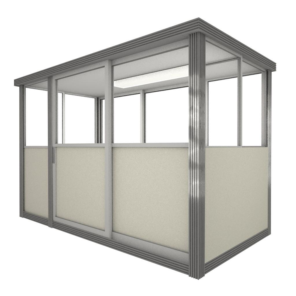 4' x 8' Booth with Sliding Door