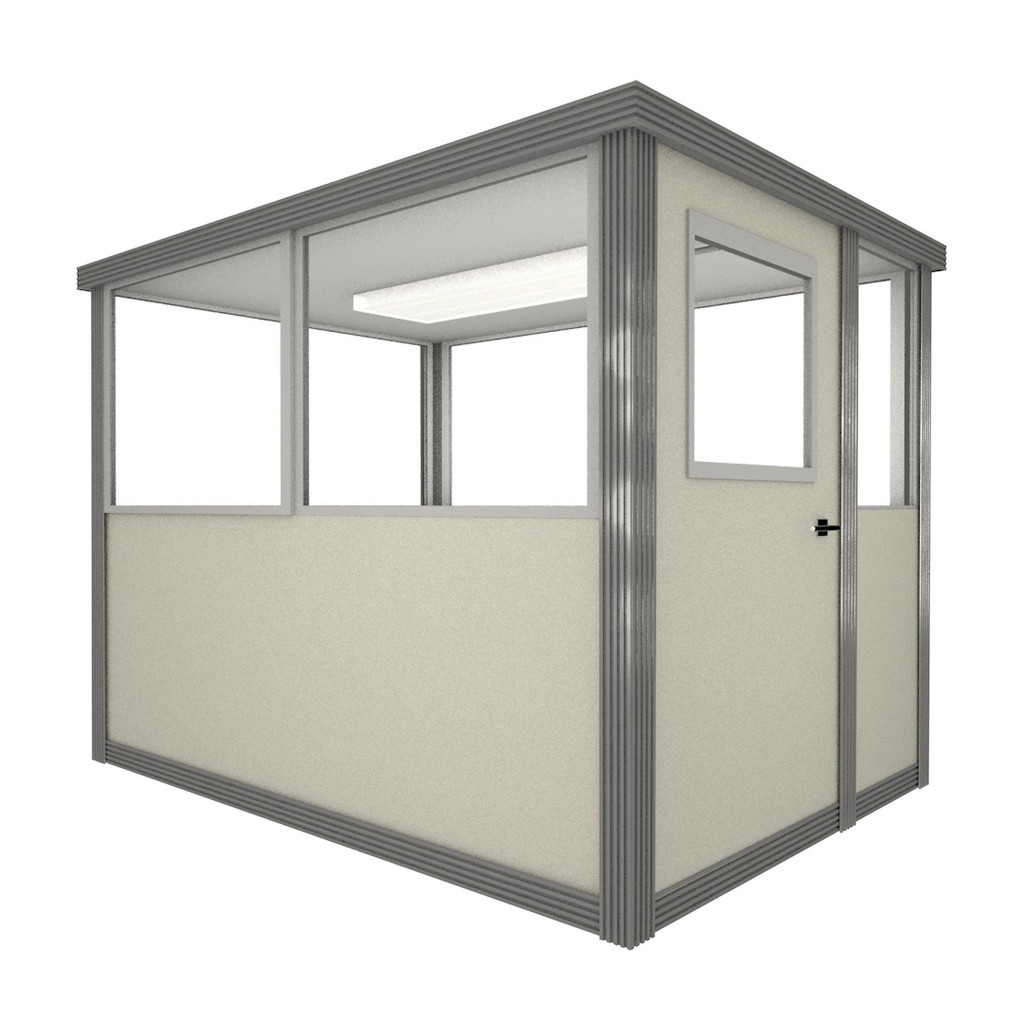 5' x 6' Booth with Swing Door