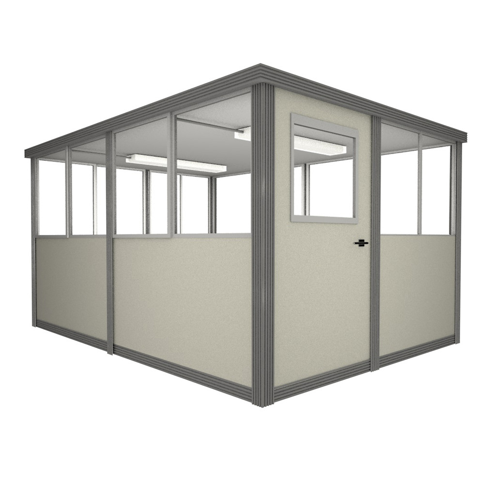 6' x 10' Booth with Swing Door