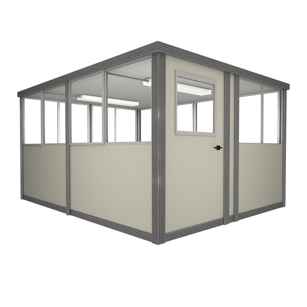 8' x 10' Booth with Swing Door