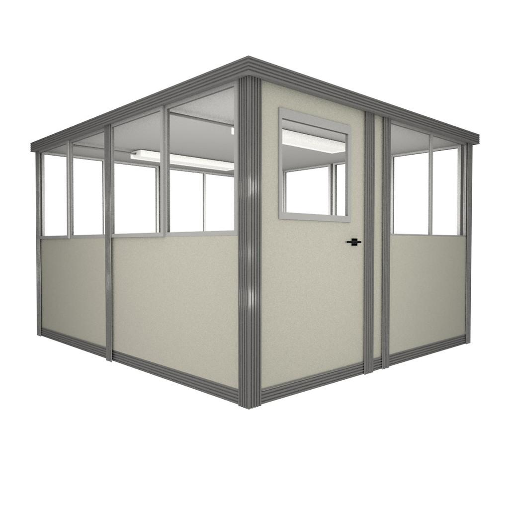 8' x 8' Booth with Sliding Door