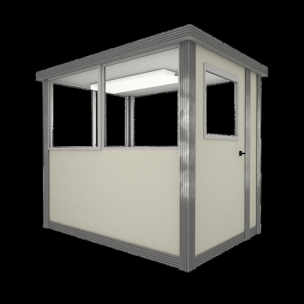 3' x 6' Booth with Swing Door - Model #36