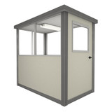 4' x 3' Booth with Swing Door