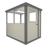 4' x 4' Booth with Swing Door