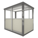 4' x 6' Booth with Sliding Door