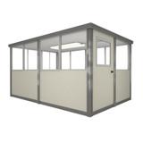 5' x 10' Booth with Swing Door