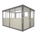 5' x 8' Booth with Swing Door