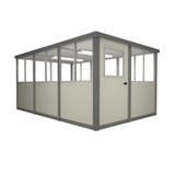6' x 12' Booth with Swing Door