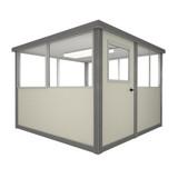 6' x 6' Booth with Swing Door