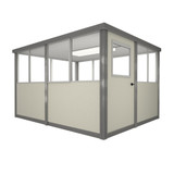 6' x 8' Booth with Swing Door