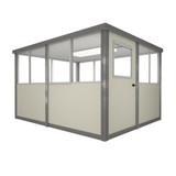 6' x 8' Booth with Swing Door