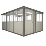 8' x 12' Booth with Swing Door