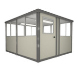 8' x 8' Booth with Sliding Door