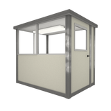 3' x 6' Booth with Swing Door - Model #36