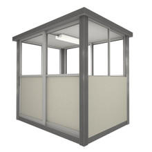3' x 5' Booth with Sliding Door