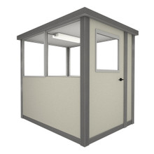 4' x 4' Booth with Swing Door