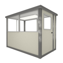 4' x 6' Booth with Swing Door