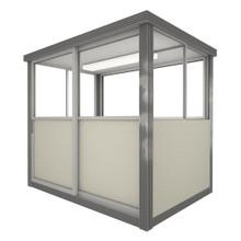 4' x 6' Booth with Sliding Door