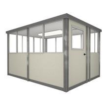 5' x 8' Booth with Swing Door