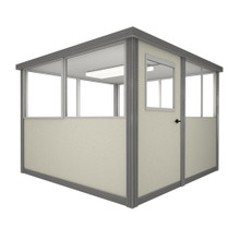 6' x 6' Booth with Swing Door
