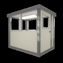 3' x 6' Booth with Swing Door