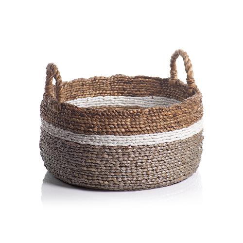 Seagrass & Water Hyacinth Basket