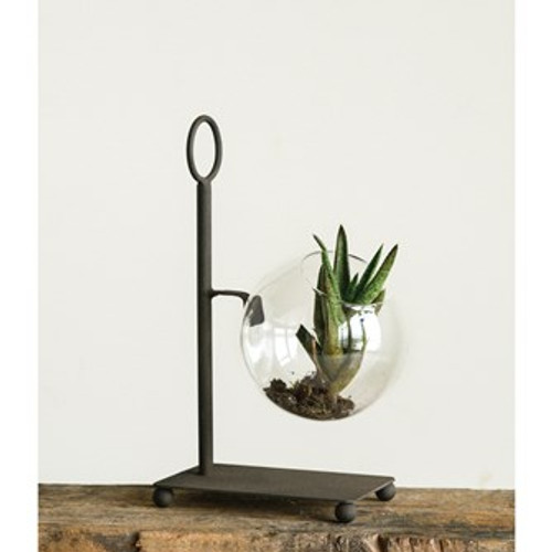Metal Stand with Terrarium