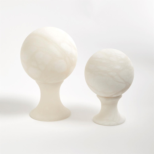 Alabaster Sphere on Stand Collection