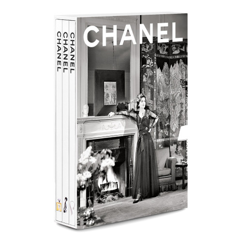 Chanel Set of 3 Coffee Table Books