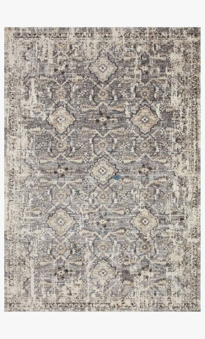 Natural and Grey Plush Rug Collection