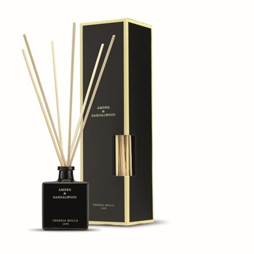 Amber and Sandalwood Fragrance Collection