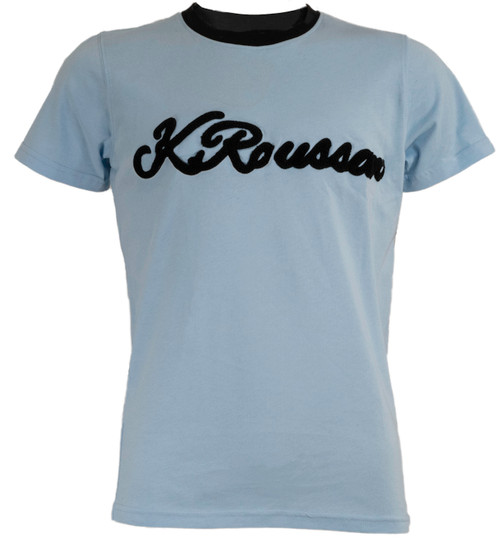 Signature KRoussaw T-Shirt Powder Blue