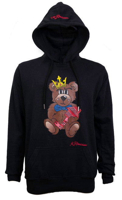 The Difference Hoodie Black