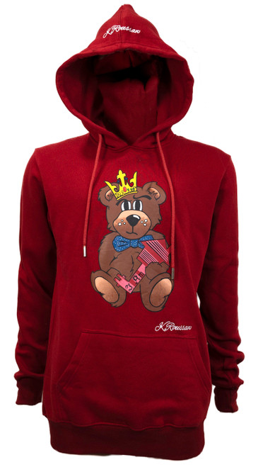 The Difference Hoodie Scarlet