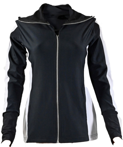 The Allure Track Jacket Black