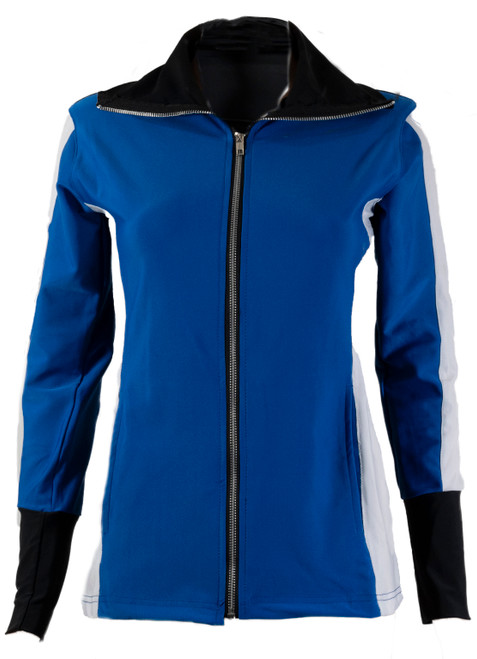 The Allure Track Jacket Blue