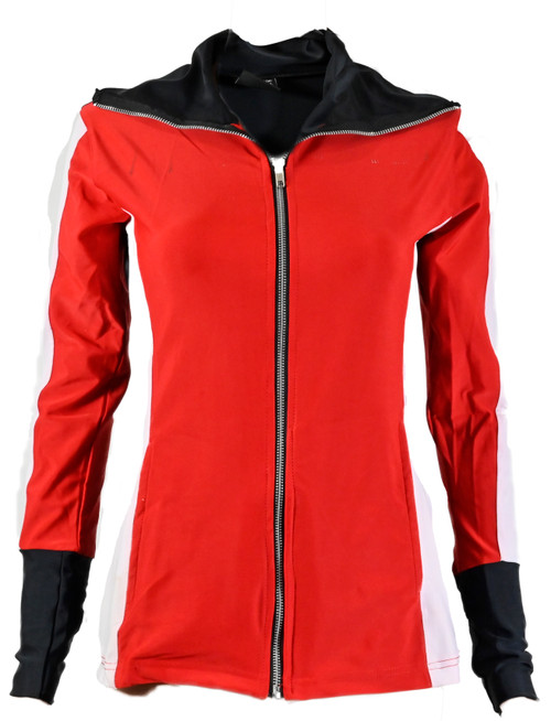 The Allure Track Jacket Red